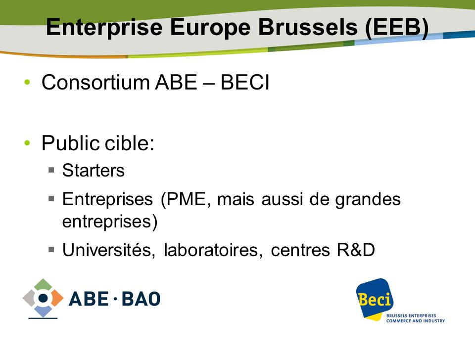 Enterprise Europe Brussels (EEB)