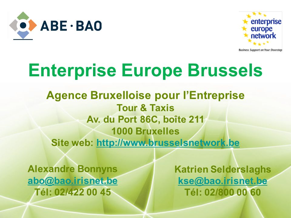 Enterprise Europe Brussels