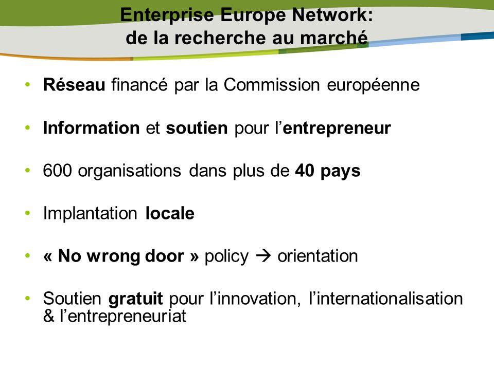 Enterprise Europe Network: de la recherche au marché