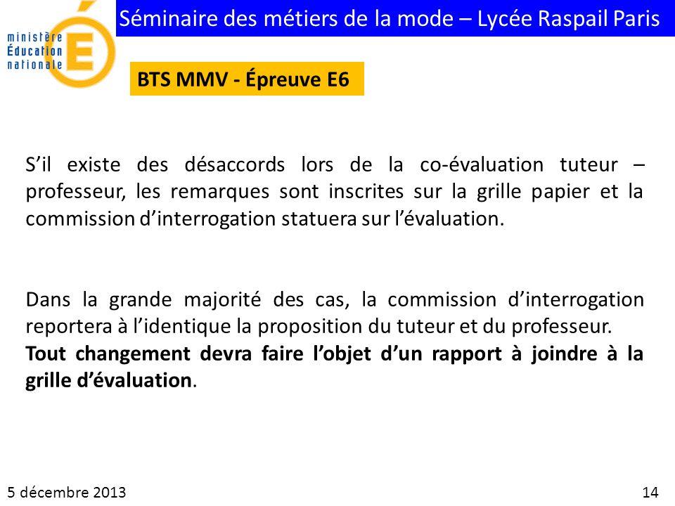 BTS MMV - Épreuve E6