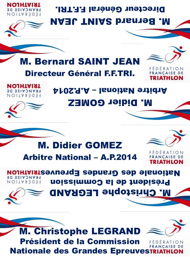 M. Bernard SAINT JEAN M. Bernard SAINT JEAN M. Didier GOMEZ