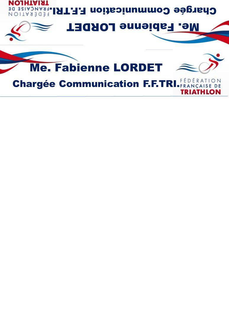 Chargée Communication F.F.TRI. Chargée Communication F.F.TRI.
