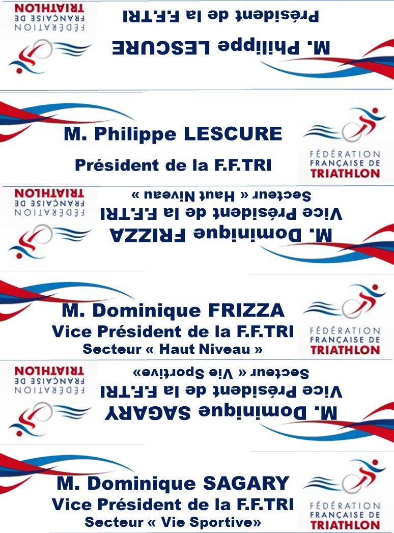 M. Philippe LESCURE M. Philippe LESCURE M. Dominique FRIZZA