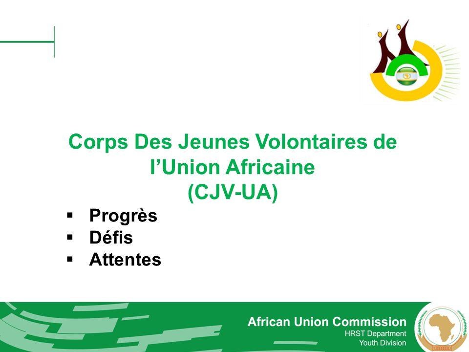 Corps Des Jeunes Volontaires de l'Union Africaine