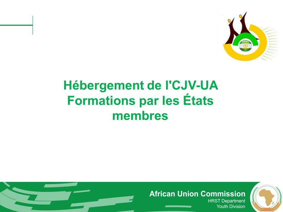Hébergement de l CJV-UA Formations par les États membres