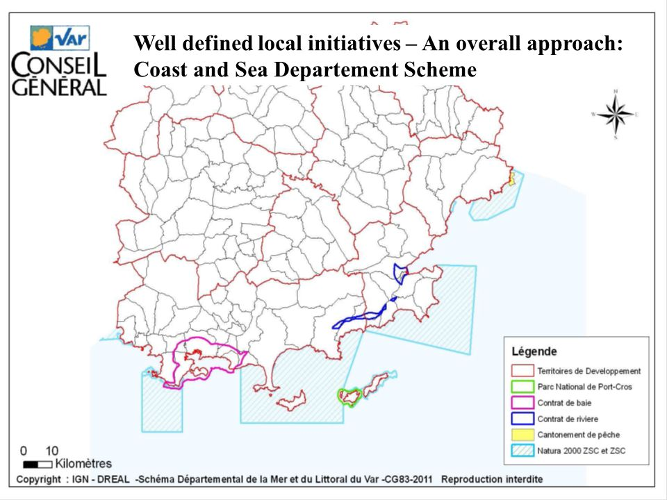 Well defined local initiatives – An overall approach: