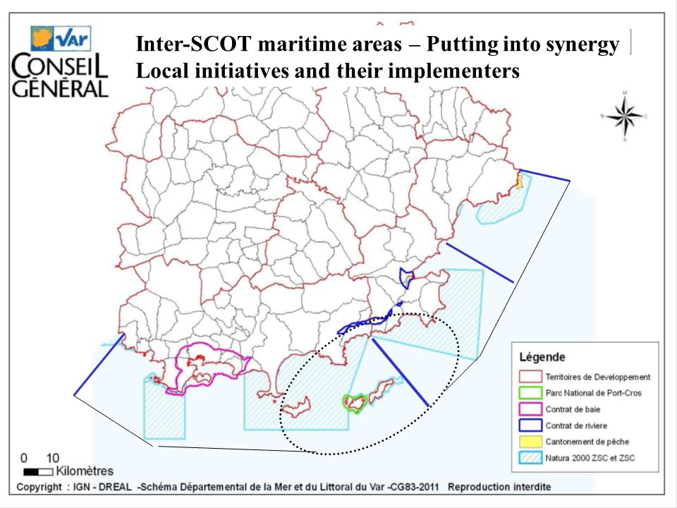Inter-SCOT maritime areas – Putting into synergy