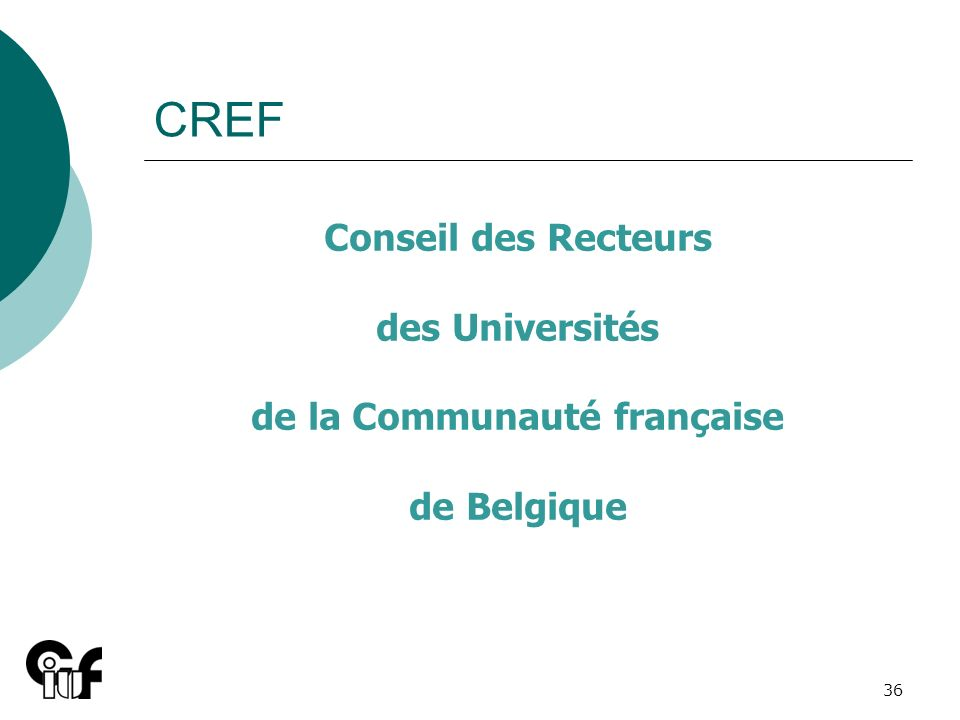 de la Communauté française