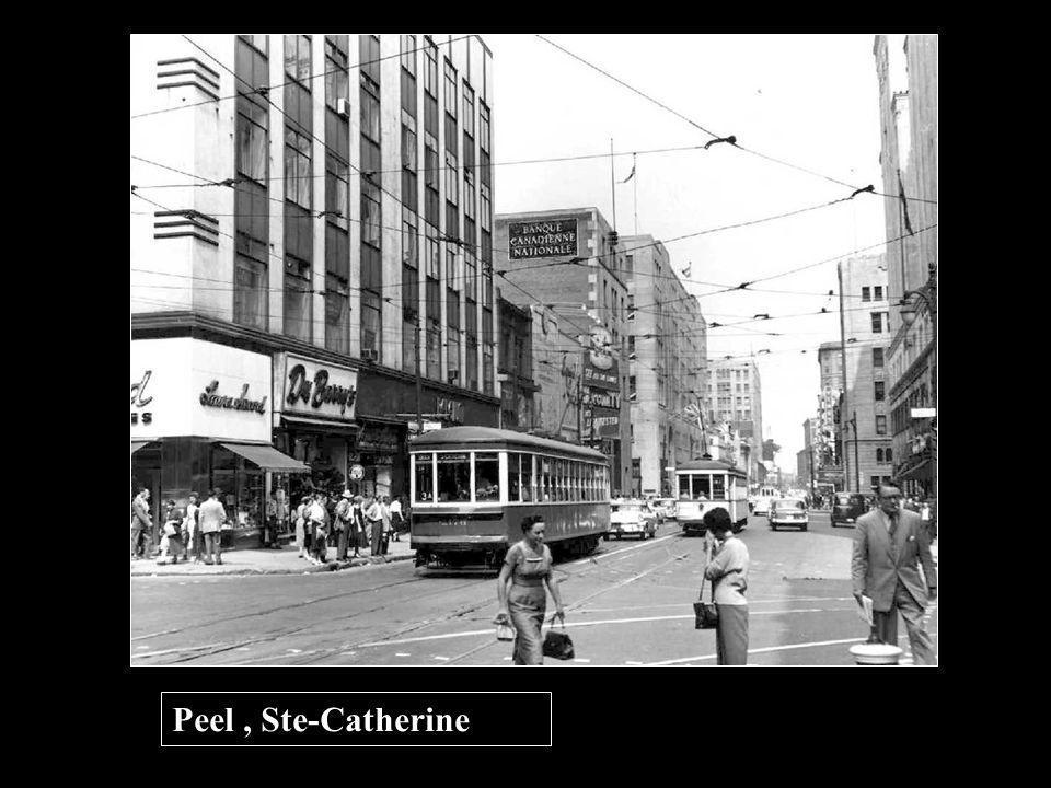 Peel , Ste-Catherine