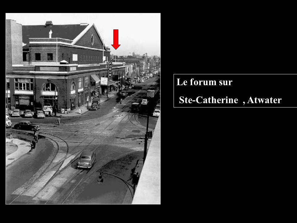 Le forum sur Ste-Catherine , Atwater