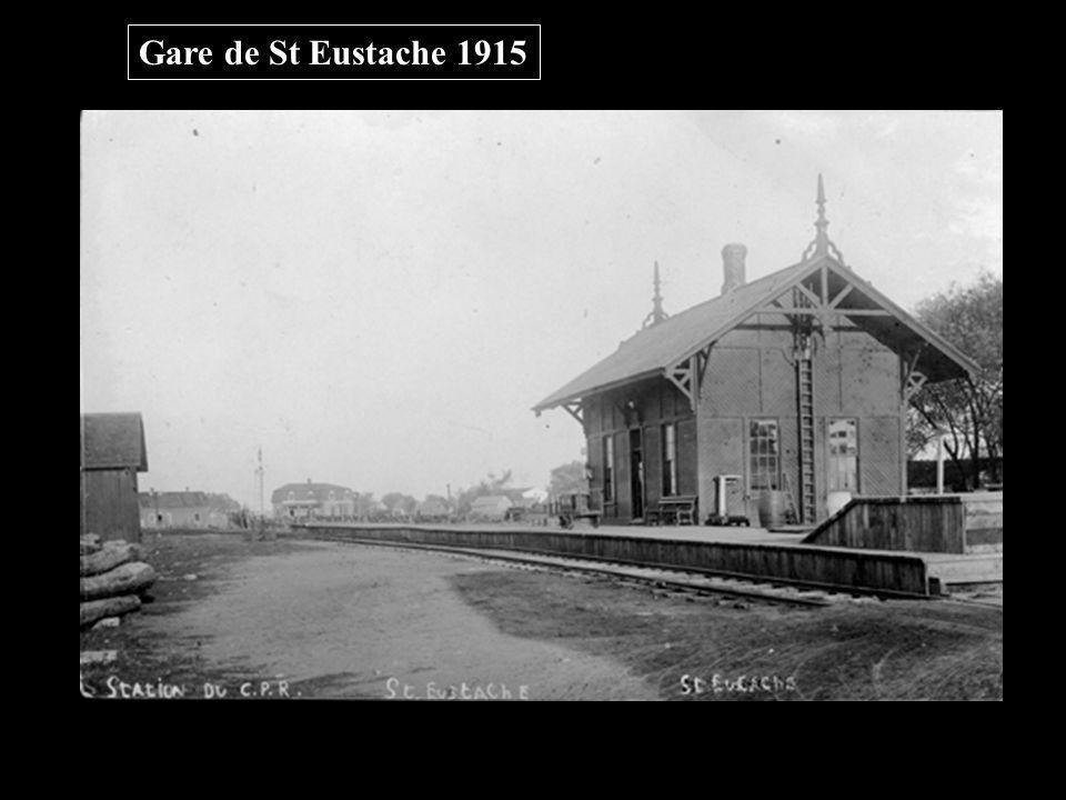 Gare de St Eustache 1915