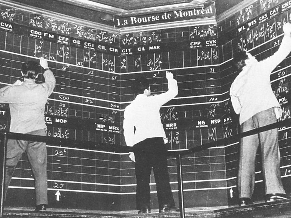 La Bourse de Montréal