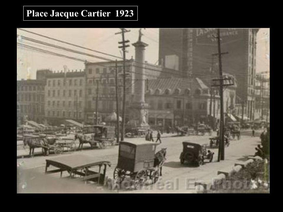 Place Jacque Cartier 1923
