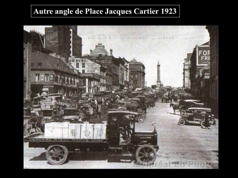 Autre angle de Place Jacques Cartier 1923