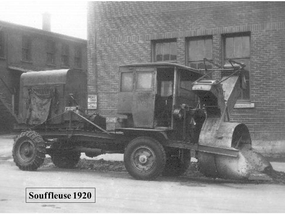 Souffleuse 1920