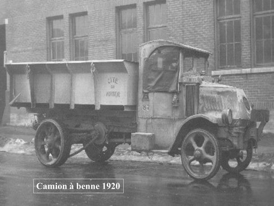 Camion à benne 1920