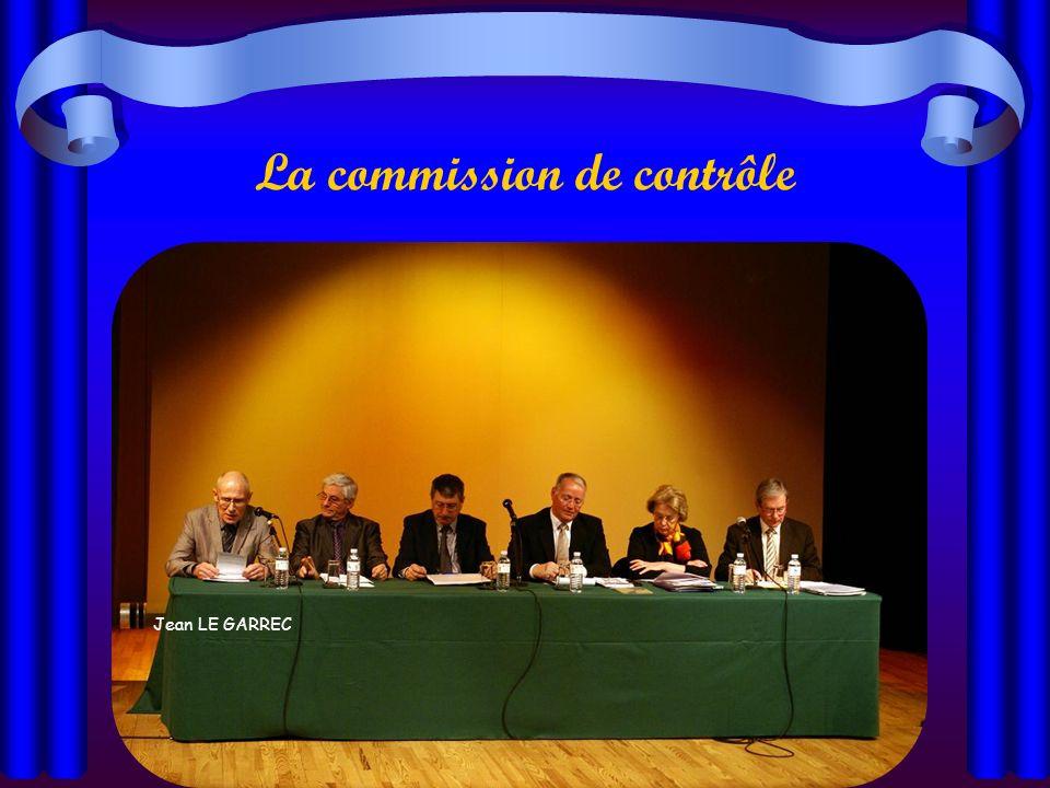 La commission de contrôle