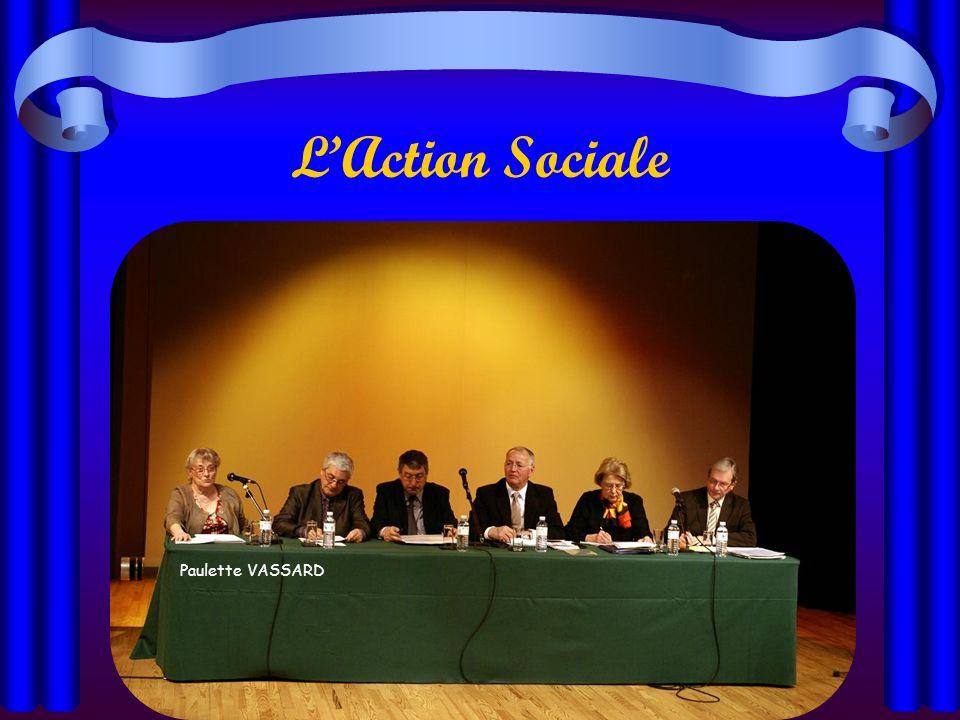 L'Action Sociale Paulette VASSARD