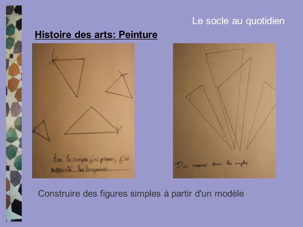 Histoire des arts: Peinture