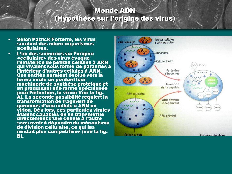 Monde ADN (Hypothèse sur l'origine des virus)