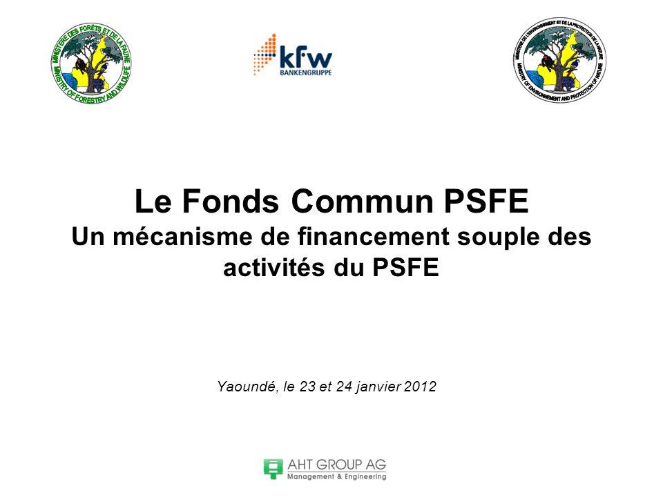 Le Fonds Commun PSFE Un mécanisme de financement souple des activités du PSFE