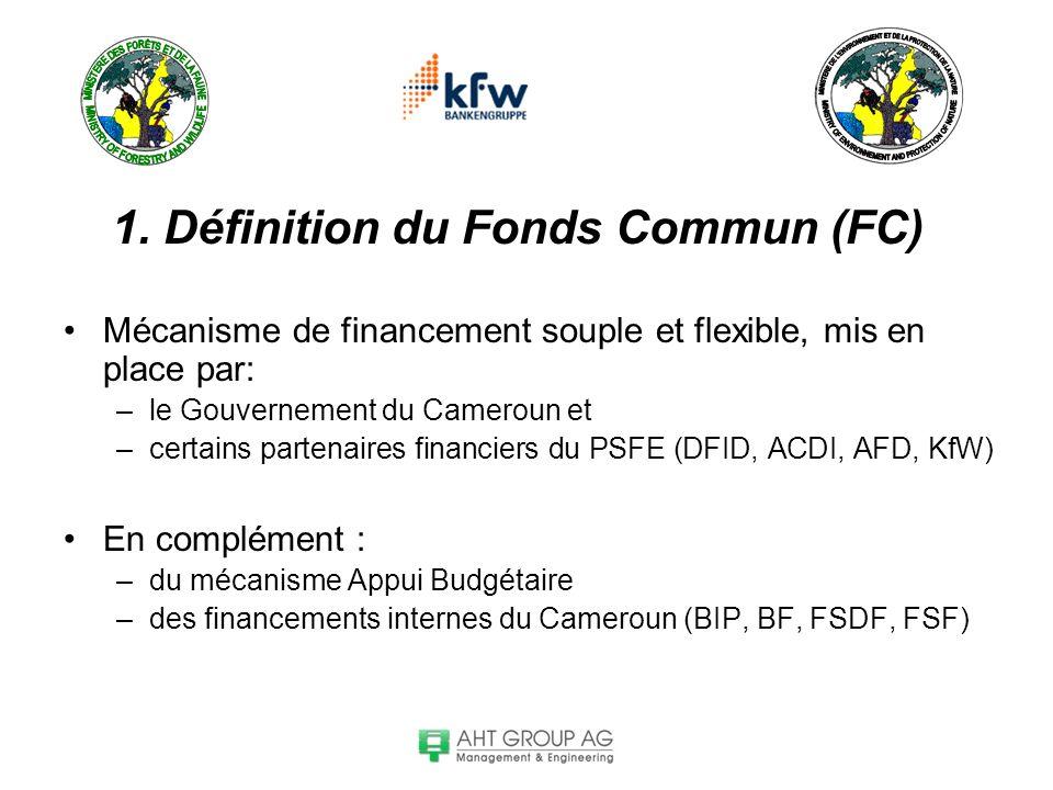 1. Définition du Fonds Commun (FC)
