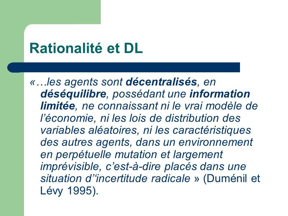 Rationalité et DL