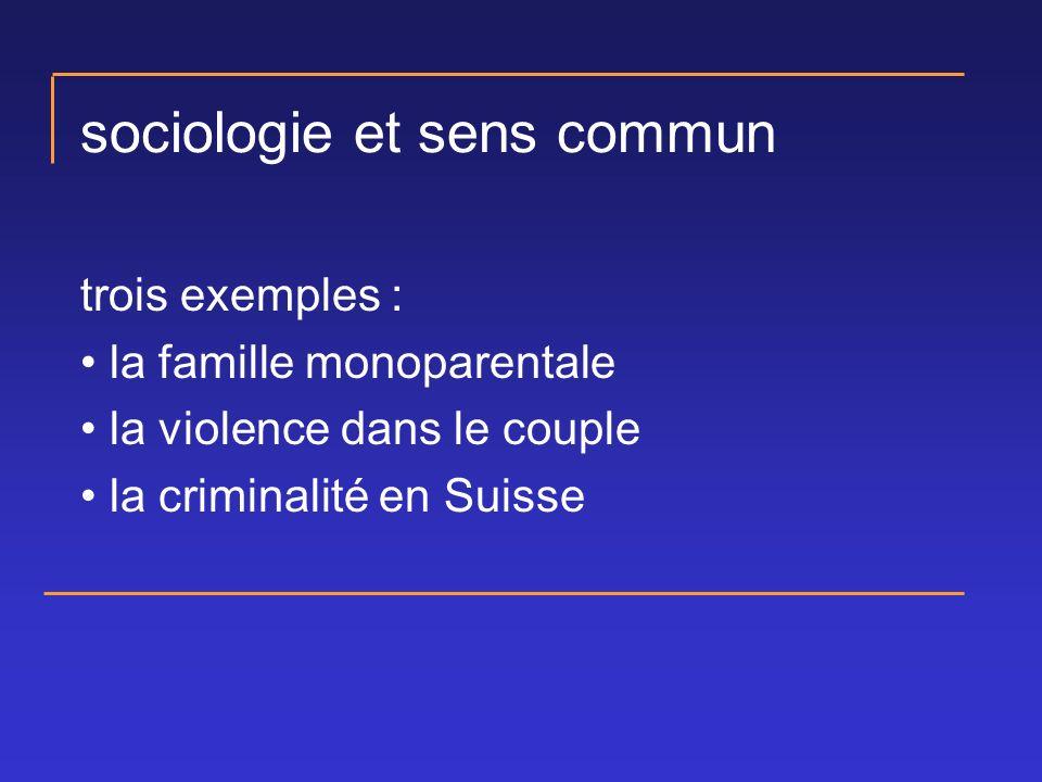 sociologie et sens commun