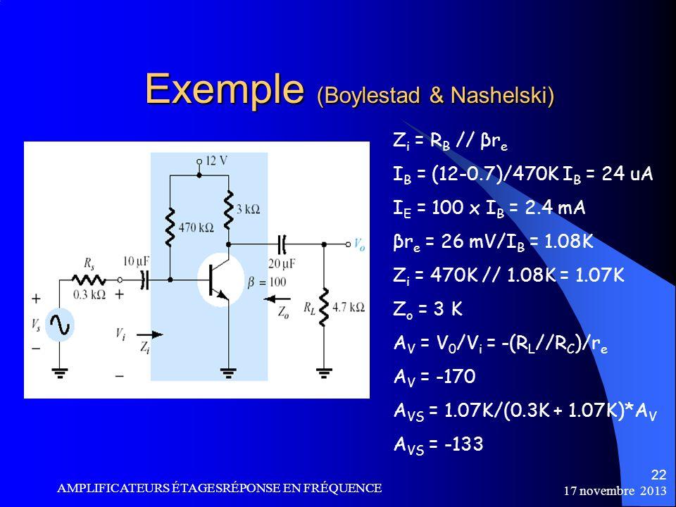 Exemple (Boylestad & Nashelski)