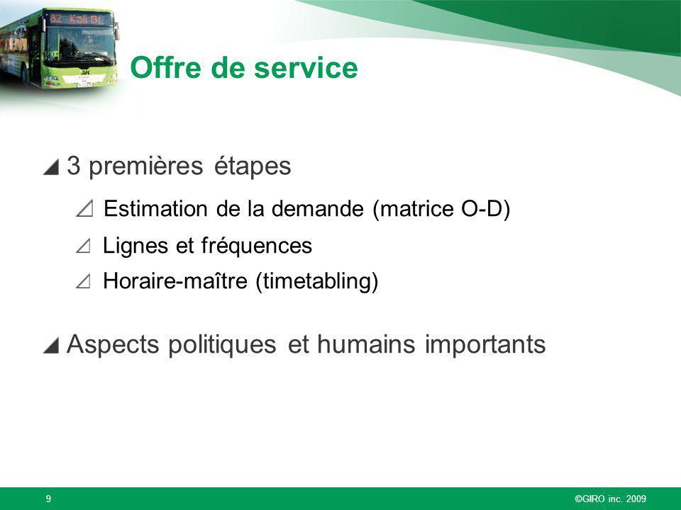 Offre de service 3 premières étapes