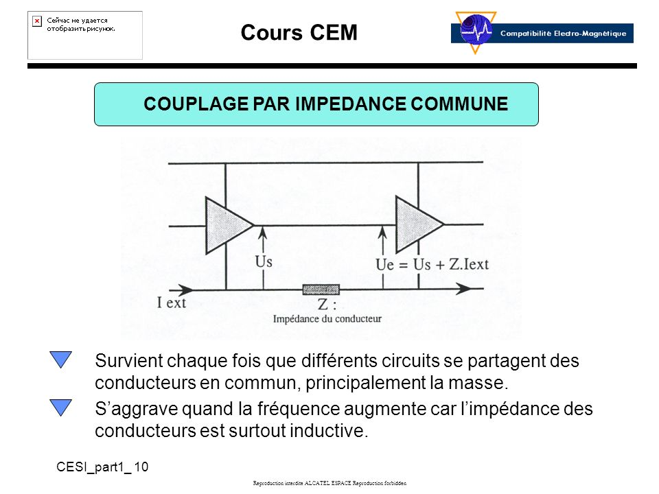 COUPLAGE PAR IMPEDANCE COMMUNE