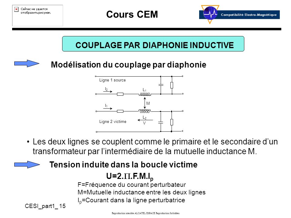 COUPLAGE PAR DIAPHONIE INDUCTIVE