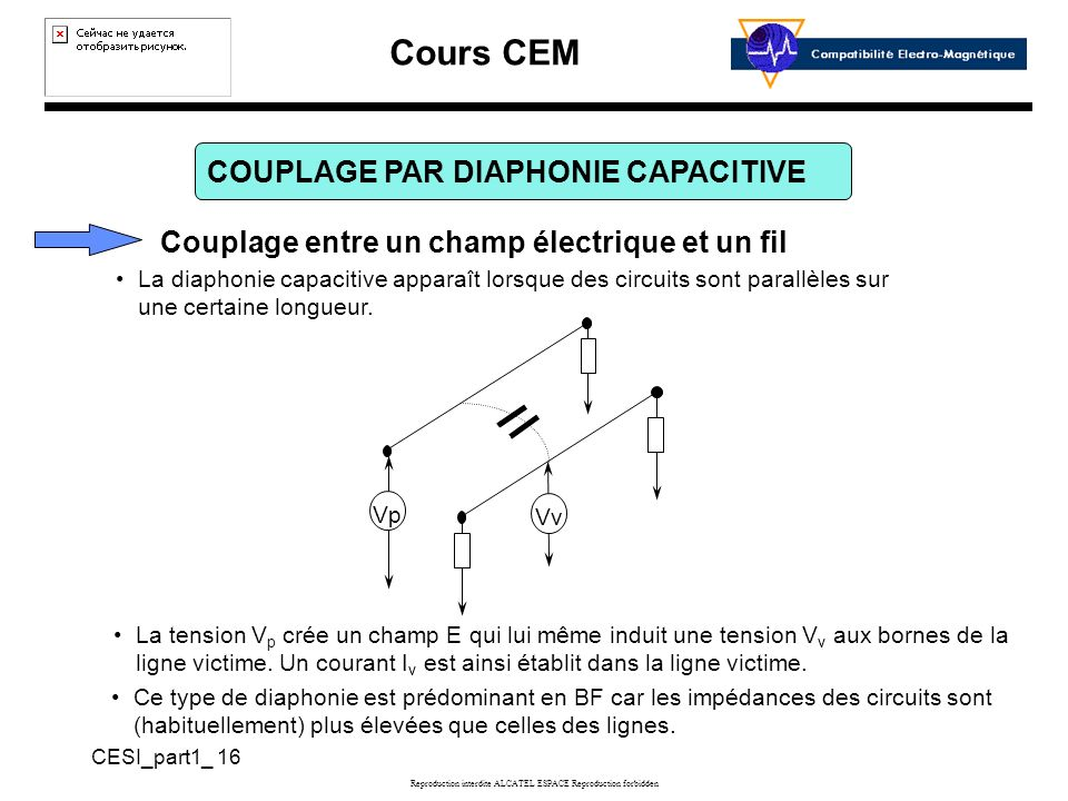 COUPLAGE PAR DIAPHONIE CAPACITIVE