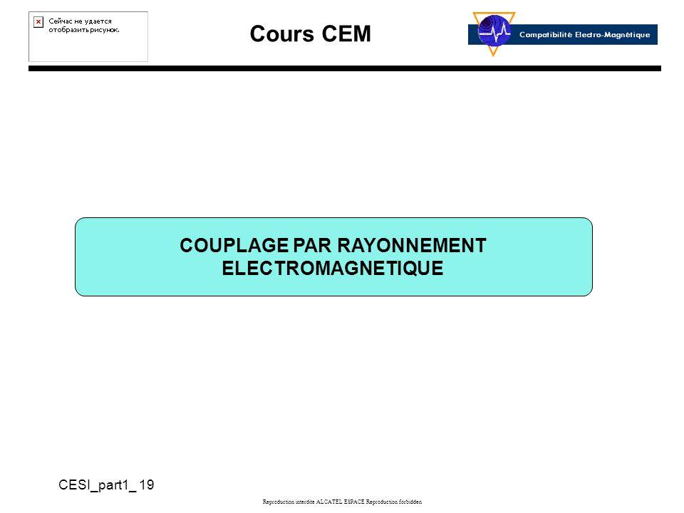 COUPLAGE PAR RAYONNEMENT ELECTROMAGNETIQUE