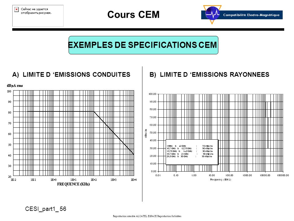EXEMPLES DE SPECIFICATIONS CEM