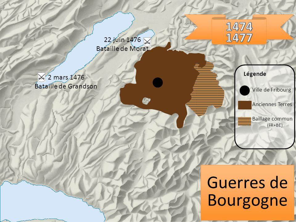 Guerres de Bourgogne 1474 1477 22 juin 1476 Bataille de Morat