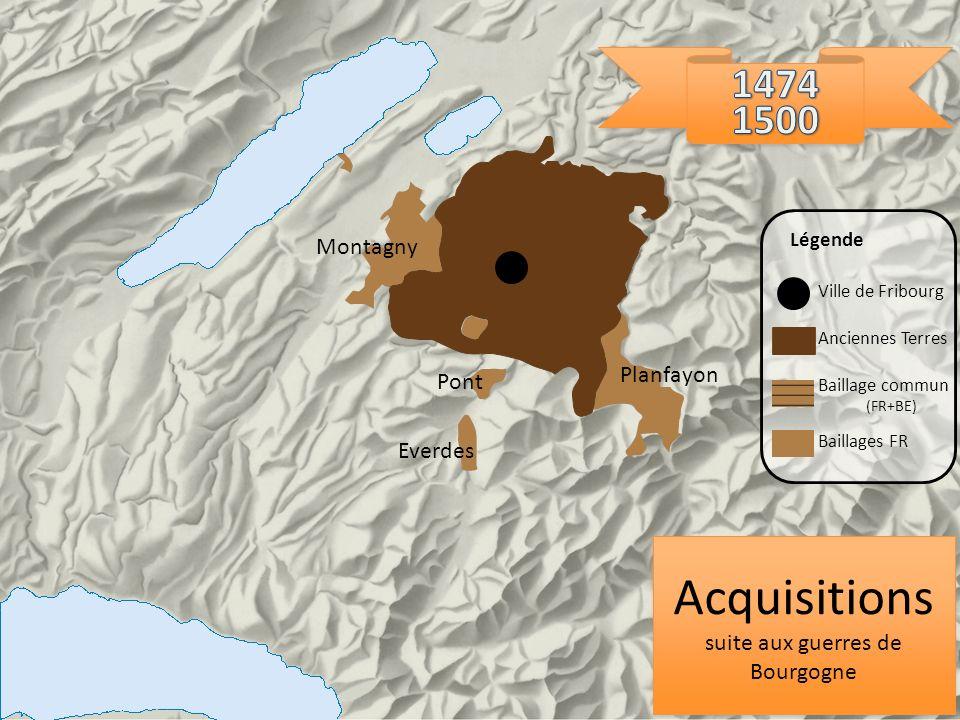 suite aux guerres de Bourgogne