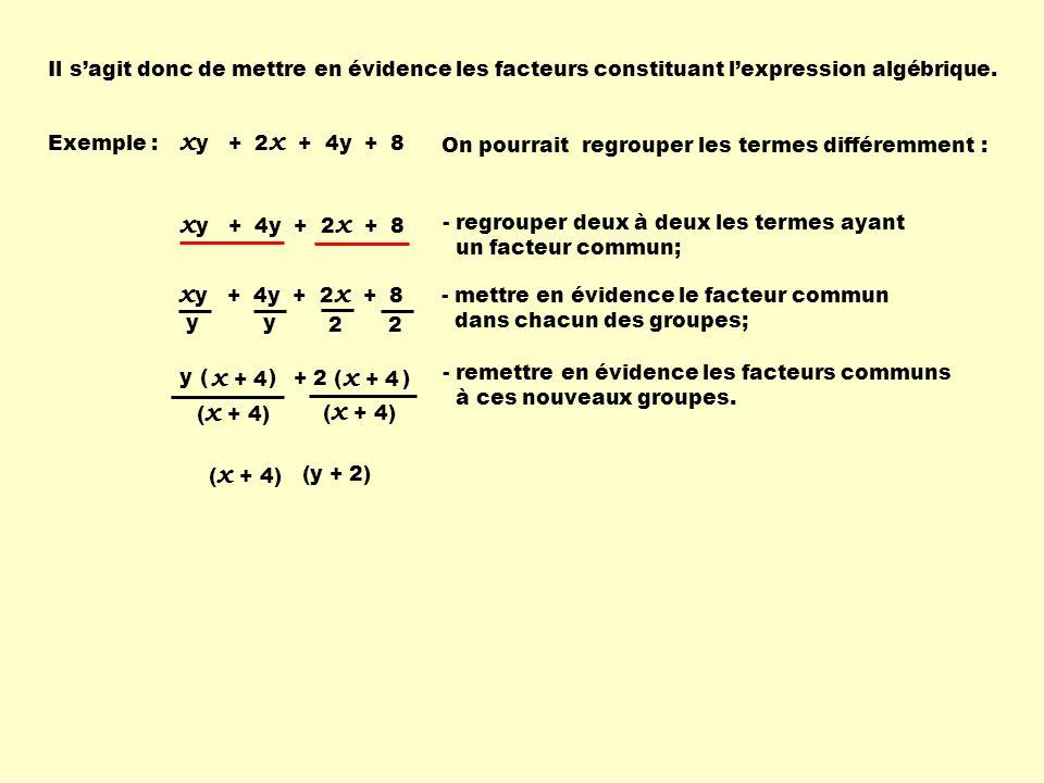 xy + 2x + 4y + 8 xy + 4y + 2x + 8 xy + 4y + 2x + 8 x + 4 x + 4
