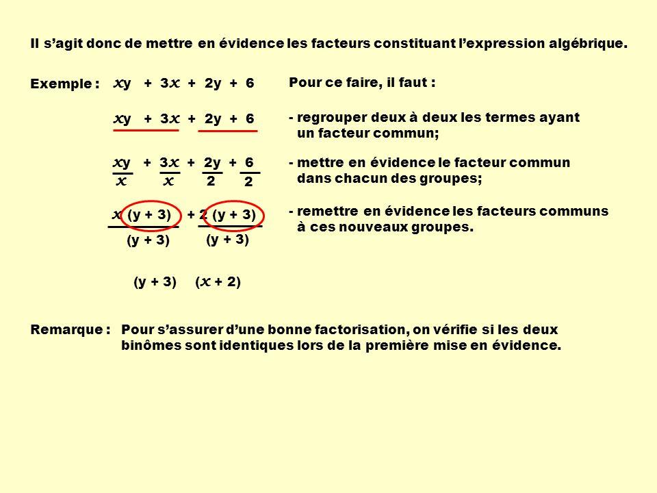 xy + 3x + 2y + 6 xy + 3x + 2y + 6 xy + 3x + 2y + 6 x x ( )