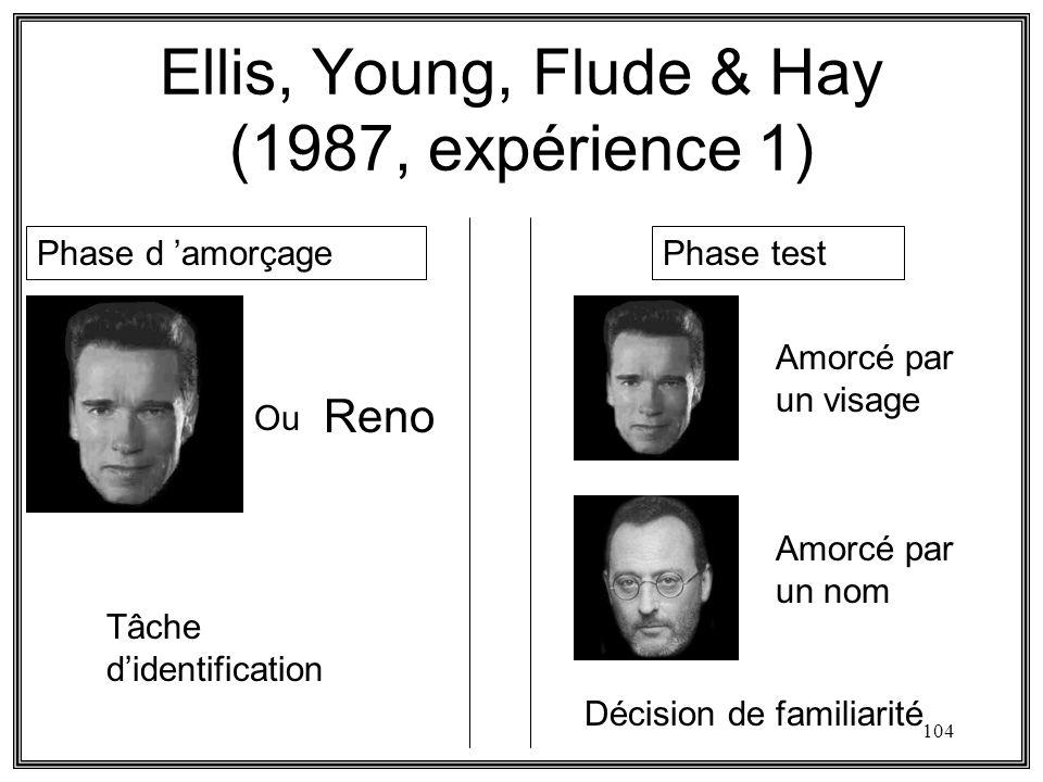 Ellis, Young, Flude & Hay (1987, expérience 1)