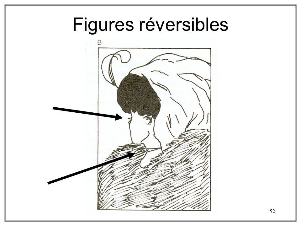 Figures réversibles