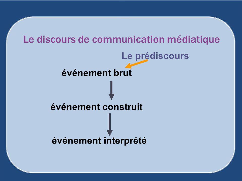 Le discours de communication médiatique