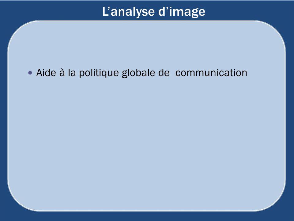 L'analyse d'image Aide à la politique globale de communication