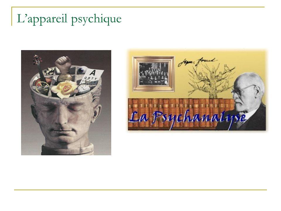 L'appareil psychique