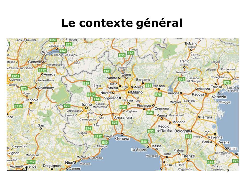 Le contexte général