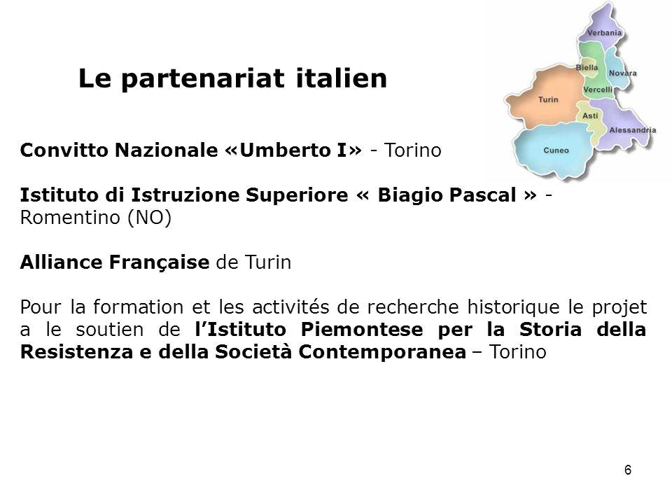 Le partenariat italien