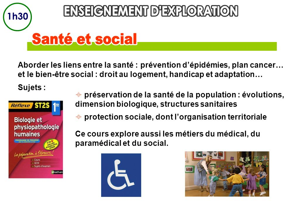 ENSEIGNEMENT D EXPLORATION