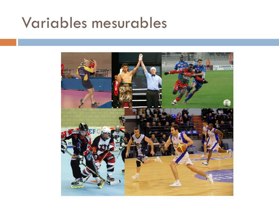 Variables mesurables