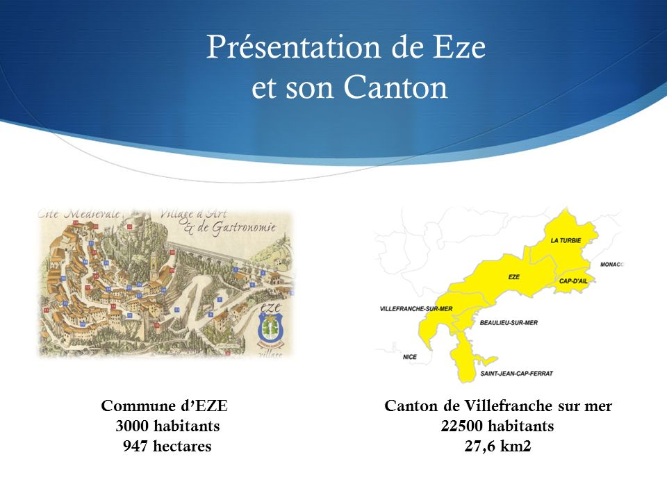 Canton de Villefranche sur mer