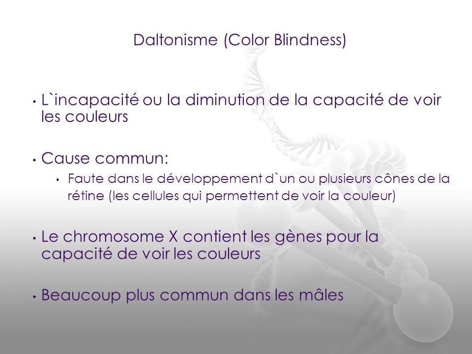 Daltonisme (Color Blindness)